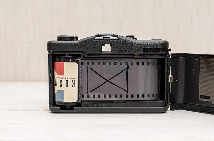 多重露光機能のないカメラ